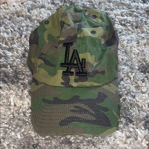 DODGERS CAMO HAT